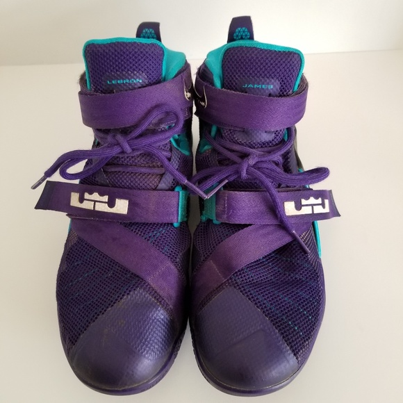 daefb7ab463a Nike LeBron Soldier 9 Basketball Shoes Hornets. M 5c14800603087c78f9507f46
